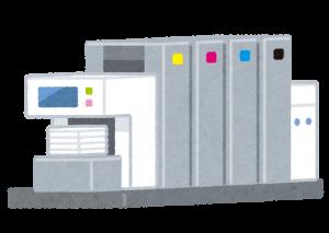 印刷事業 印刷機のイメージ
